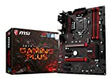 MSI Z270 GAMING PLUS PERFORMANCE - Placa base (Chipset Intel Z270, DDR4 Boost, Steel Armor, Intel LAN, Audio Boost, VR Ready, Military Class V)