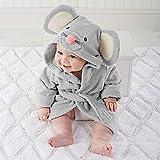 Baby Pajamas, toalla de baño con capucha, suave y cómoda, diseño de dibujos animados, para bebé