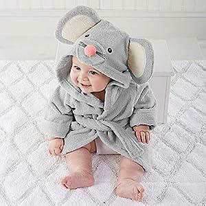 Pijama de bebé de gran calidad, suave, cómodo, con dibujos, toalla de baño con capucha, envoltorio de albornoz… 6