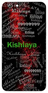 Kishlaya (Lotus; Fresh Leave*) Name & Sign Printed All over customize & Personalized!! Protective back cover for your Smart Phone : Samsung Galaxy S4mini / i9190