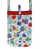 #5: Kadambaby Laundry Bag for Kids, Small Size Kids Laundry Bag. Fruity Print
