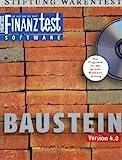 FINANZtest - Baustein. CD-ROM für Win 98 SE, ME, NT, 2000, XP; Mac und Linux. Das Programm für die private Baufinanzierung