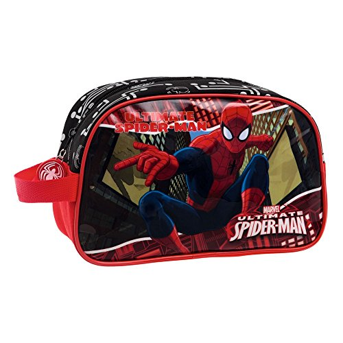 Marvel-4454451 Neceser Adaptable, Color Rojo, 24 cm (Joumma 44544)