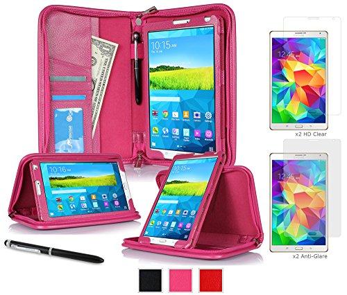 galaxy-tab-s-21cm-case-bundle-roocase-executive-portfolio-leather-case-bundle-with-4-pack-2-matte-2-