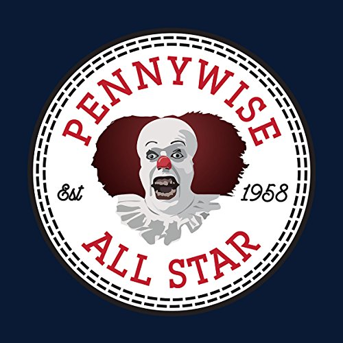 Pennywise All Star 1958 IT Men's T-Shirt Navy Blue
