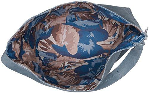 Timberland Tb0m5746, Borsa a Spalla Donna, 15.5x36x31.5 cm Blu (Dark Denim)