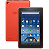 "Tablet Fire, pantalla de 7"" (17,7 cm), Wi-Fi, 8 GB (Naranja) - incluye ofertas especiales"