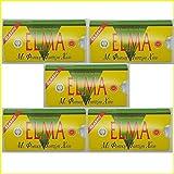 ELMA CLASSIC griechischen Kaugummi mit natürlichen Chios Harz Gum Mastix und Mastiha Öl - 5 x 10 - Packungen
