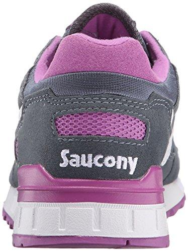 Saucony - Shadow 5000, Scarpe  Low-Top Donna Grigio (Charcoal)