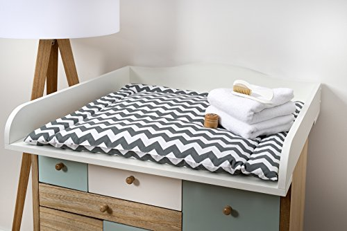 KraftKids Accesorio para cambiador, compatible con la cómoda Hemnes, color blanco