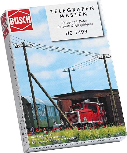 Busch 1499 - Telegrafenmasten