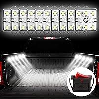 Favoto 10x6 Kit de Luz Interior de Módulo LED 5730 Iluminación de Techo Lámpara de Lectura Trabajo Impermeable para Coche de 12V Furgoneta Camión Camioneta Barco Almacén al Aire Libre Blanco