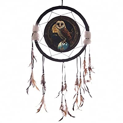 Lisa Parker Barn Owl Dreamcatcher 33cm Gifts, and, Cards Wedding, Gift, Idea Occasion, Gift, Idea