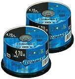 Intenso DVD+R 4.7GB 16x, 100er-Spindel