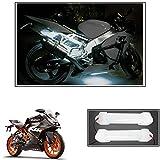 #9: Vheelocityin 10cm Neon Bike Light White - 2pc For Ktm Rc 200