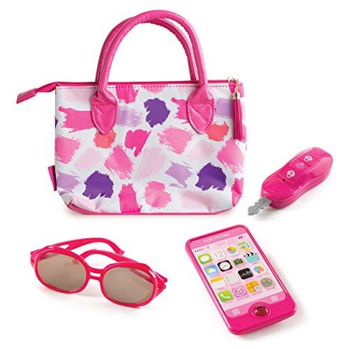 Make it Up Premium-Geldbörsenzubehör-Set, Pretend Play-Geldbörse, Telefon, Sonnenbrillen-Tasten Zum Ankleiden von Rollenspielen