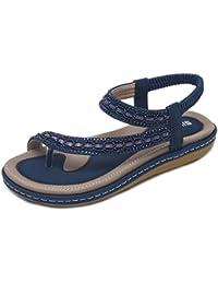 Frauen Schuhe Plus Größe 35-43 Sommer Sandalen Frauen Flip-flops Weben Leder Casual Strand Flache Mit Schuhe Rom Tanga Stil Weibliche Sandale