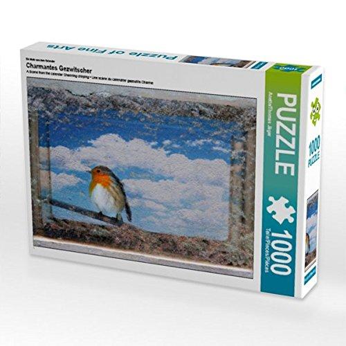Ein Motiv aus Dem Kalender Charmantes Gezwitscher 1000 Teile Puzzle Quer