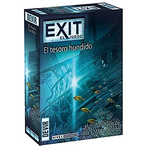 5. Exit: El tesoro hundido - Juego de escape room de un solo uso