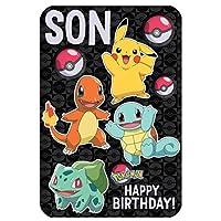 Pokemon Son Anime Large Birthday Card 250572