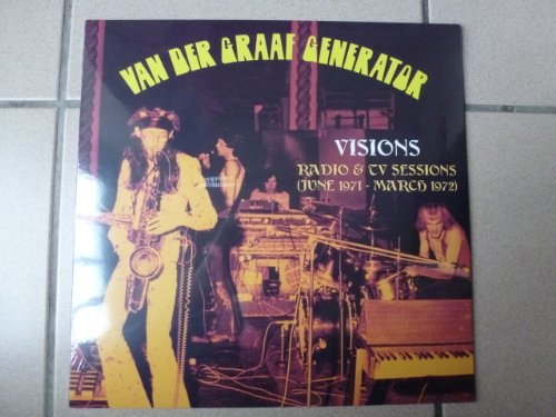 LP.VAN DER GRAAF GENERATOR.VISIONS.RADIO ET TV SESSIONS 71/72