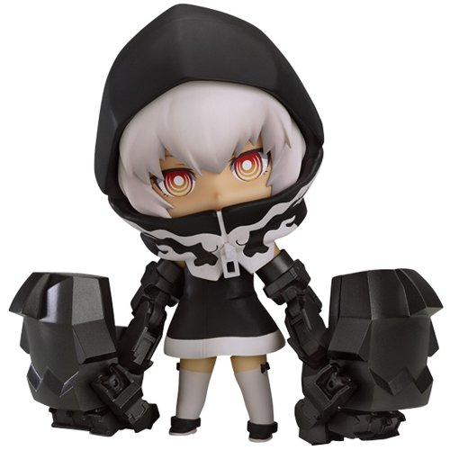 TV ANIMATION Black Rock Shooter Nendoroid St?rke TV ANIMATION Ver. (Nicht-Skala ABS & PVC gemalten Figuren in Bewegung) - Rock Shooter-nendoroid Black