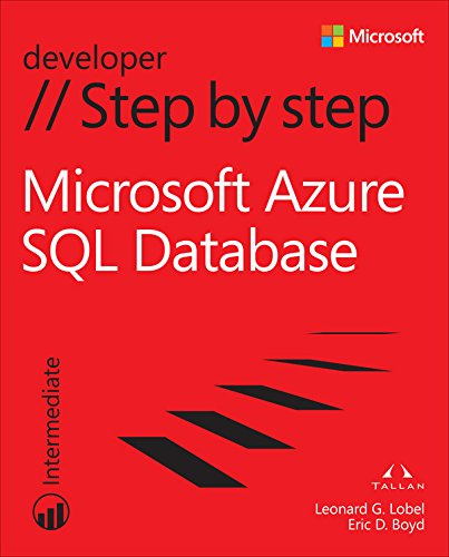 Microsoft Azure SQL Database Step by Step (Step by Step Developer) (English Edition)