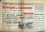 ECHANGES ET LOGEMENTs [No 17] du 01/07/1963 - LES GRANDES PLAGES DU LANGUEDOC ET DU ROUSSILLON - L'HOMME MODERNE ET LES VILLES A SA MESURE - TOULOUSE....