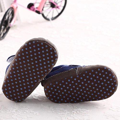 Bzline® krippe Weiche Baby Schuhe Sneakers Blau Kleinkind Freizeitschuhe Sohle rSwrvF