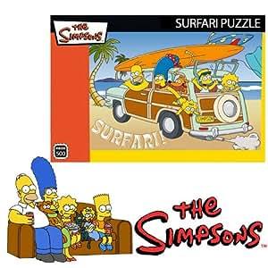 New Kids The Simpsons Surfari 500 Piece Jigsaw Puzzle