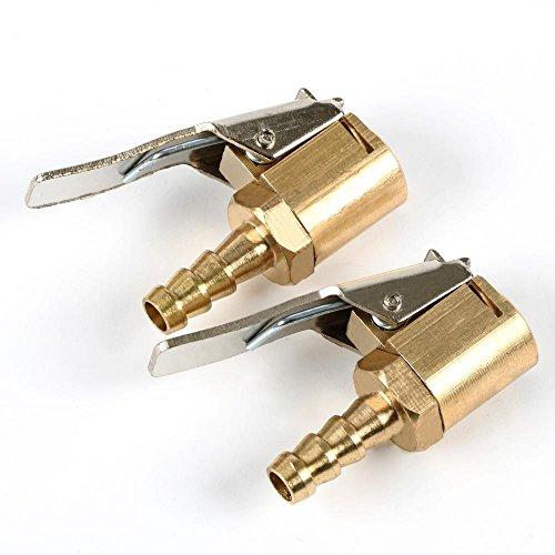 Preisvergleich Produktbild Yahee Momentstecker 6mm Messing 2 Stück Hebelstecker Ventilstecker Druckluft
