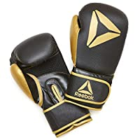 14OZ BOXING GLOVES-GOLD/BLK, 1 SIZE