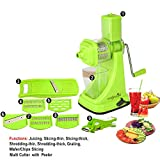 #4: Magikware Super Kitchen Combo - Juicer, Slicer, Cutter (Set of 9)