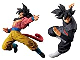 Banpresto Dragon Ball super 2set Super Saiyan 4 Goku Goku Midnight Eye black