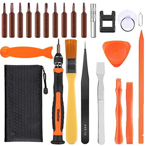 Vastar 23 in 1 corredo di riparazione tool cacciavite strumenti apertura,smartphone per iphone 6/7/8/iphone x,per mac book,per ipad,per iphone serial,con lo strumento schermo aperto