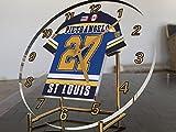 NHL National Hockey League–Western Konferenz–Central Division Trikot-Uhren–Jeder Name, beliebige, jedes Team, kostenlose Personalisierung. St Louis Blues