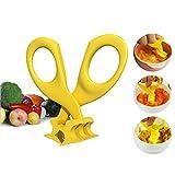Inovey Real Bubee Babynahrung Schere Blister Crush Baby Nahrungsergänzungsmittel Schere Kindergeschirr Baby Fütterung Supplies