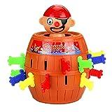Newin Pop Star Pirate, Piraten Pop-Out Pirate, Würfel des Spielesammlung Spiele Brettspiel Spiele Getränkekühler für Party