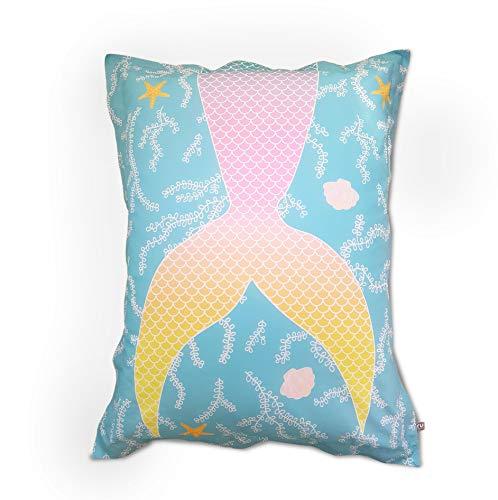 Mermaid Tail - Puf infantil, diseño de cola de sirena