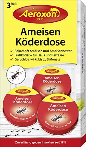 Aeroxon - Ameisen-Köder - 3er Pack - bekämpft Das Ganze Ameisennest