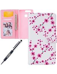 JAWSEU - Náuticos para niña Pink Blossom Flower Huawei P9