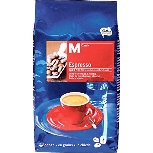 Kaffee Espresso 'M-Classic Bohnen' 'Mittel'