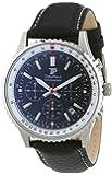 Time Piece Herren-Armbanduhr Sporty Chronograph Quarz Leder TPGS-20134-21L