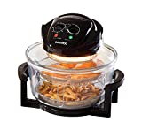 Daewoo Deluxe 17L 1300W Halogen Air Fryer with an Extension Ring- 60min Timer