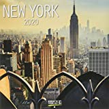 New York 2020: Broschürenkalender mit Ferienterminen. Format: 30 x 30 cm