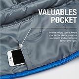 Profi-Mumienschlafsack, 300 g/m², für Camping, Wandern, Outdooraktivitäten - 5