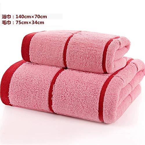 Xllx set asciugamani telo da bagno in cotone di alta qualità assorbente morbido in puro cotone microfibra telo mare telo mare telo sportivo f