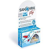 SANOHRA fly für Kinder, Ohrstöpsel mit patentiertem Filter gegen Ohrenschmerzen beim Fliegen preisvergleich bei billige-tabletten.eu
