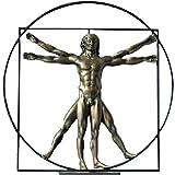 Statuette de collection Léonard de Vinci - l'homme de Vitruve