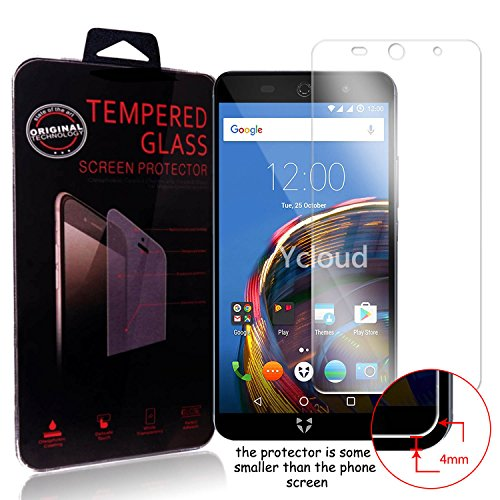 Ycloud Panzerglas Folie Schutzfolie Bildschirmschutzfolie für Wileyfox Swift 2 / Wileyfox Swift 2 Plus screen protector mit Härtegrad 9H, 0,26mm Ultra-Dünn, Abger&ete Kanten